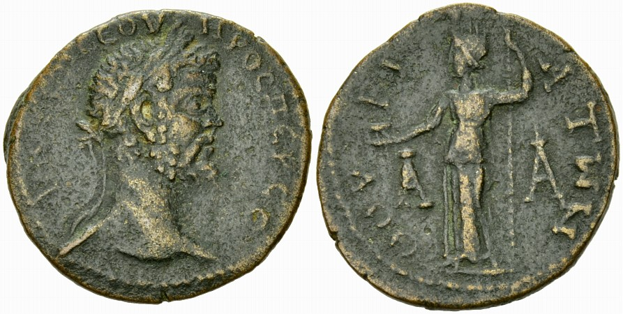 Septimius Severus Assarion, Thouria, ex BCD and Rhousopoulos