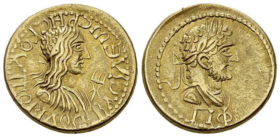 Rhescuporis II with Caracalla EL Stater