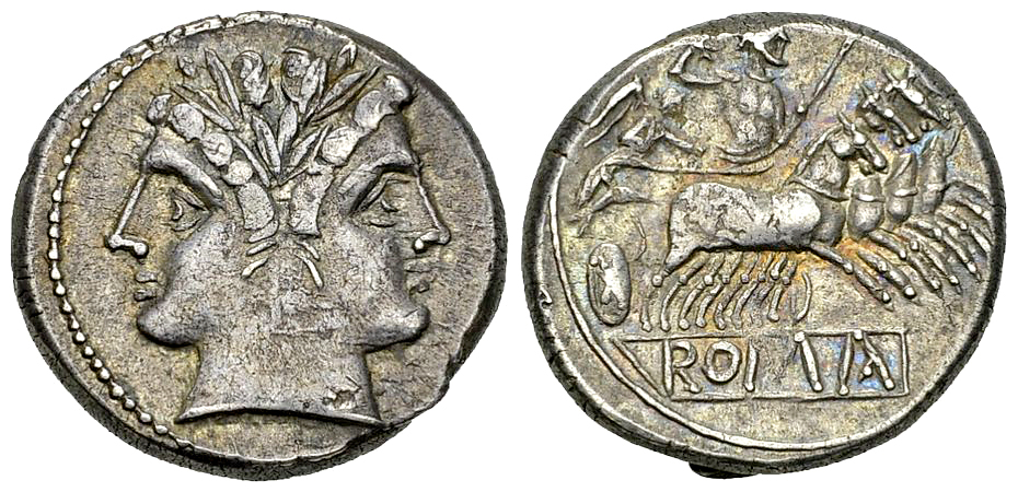 Anonymous AR Quadrigatus, c. 225-214 BC